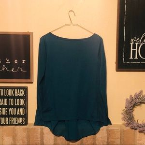 🔥3/$12🔥 Emerald Green Ann Taylor Top size small